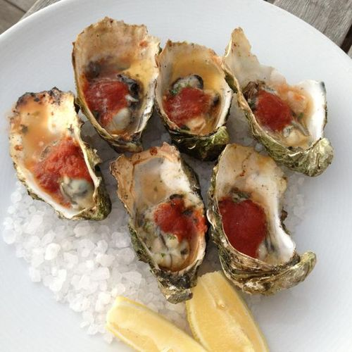 Nicks cove cottages bbq oysters - food fashionista